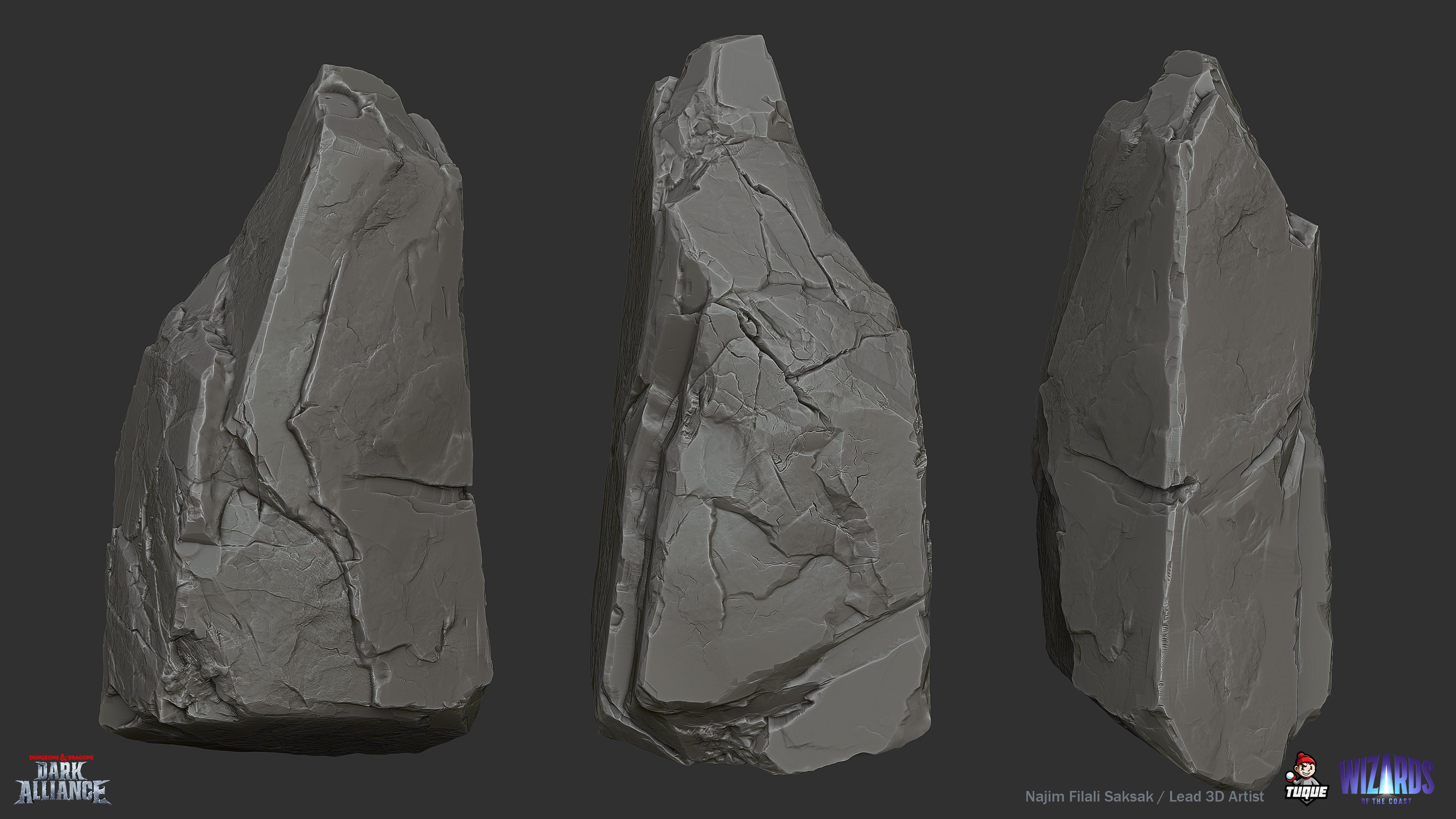 Troll Cave Rock Sculpting