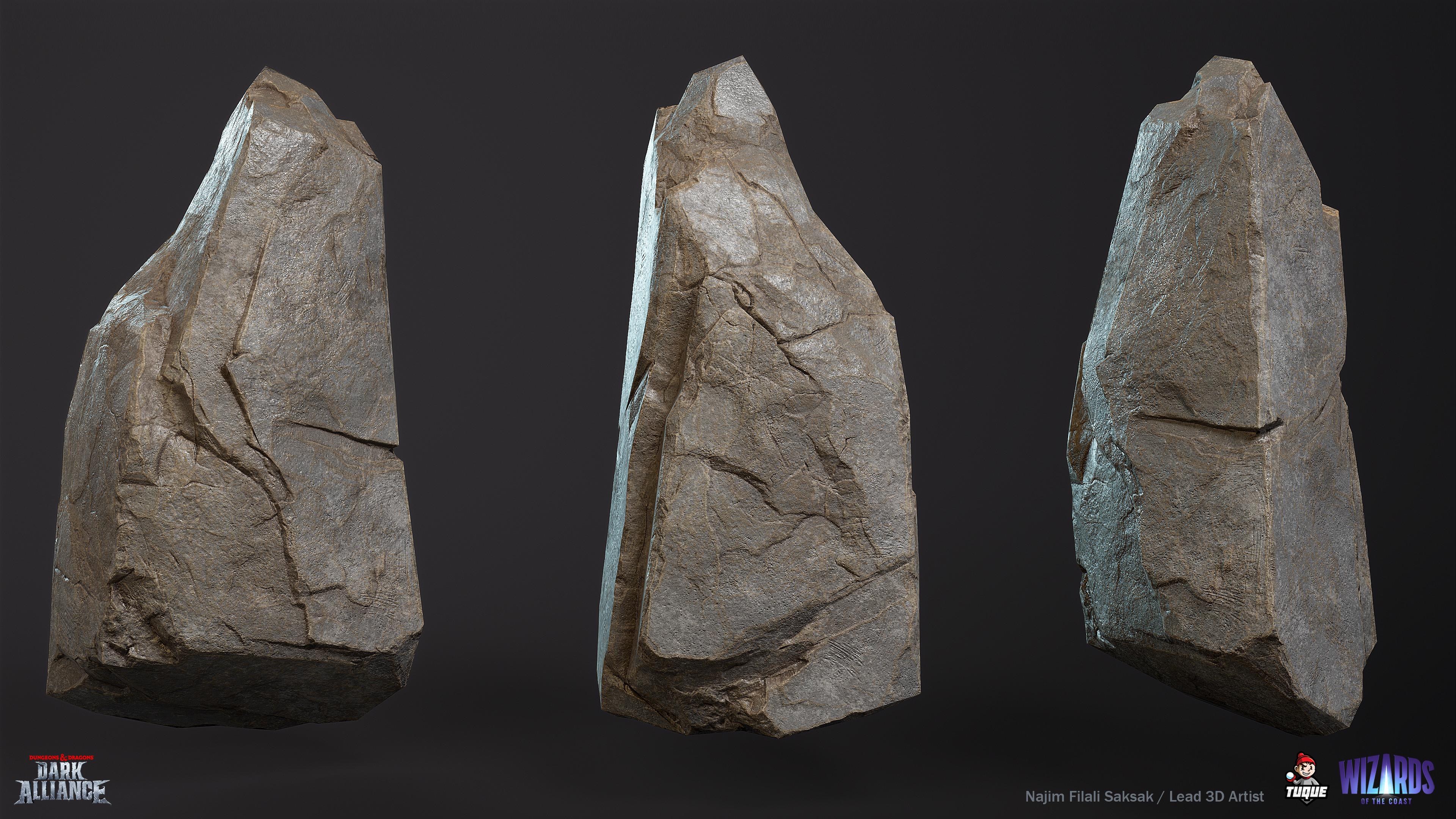 Troll Cave Rock Texture Variant 01