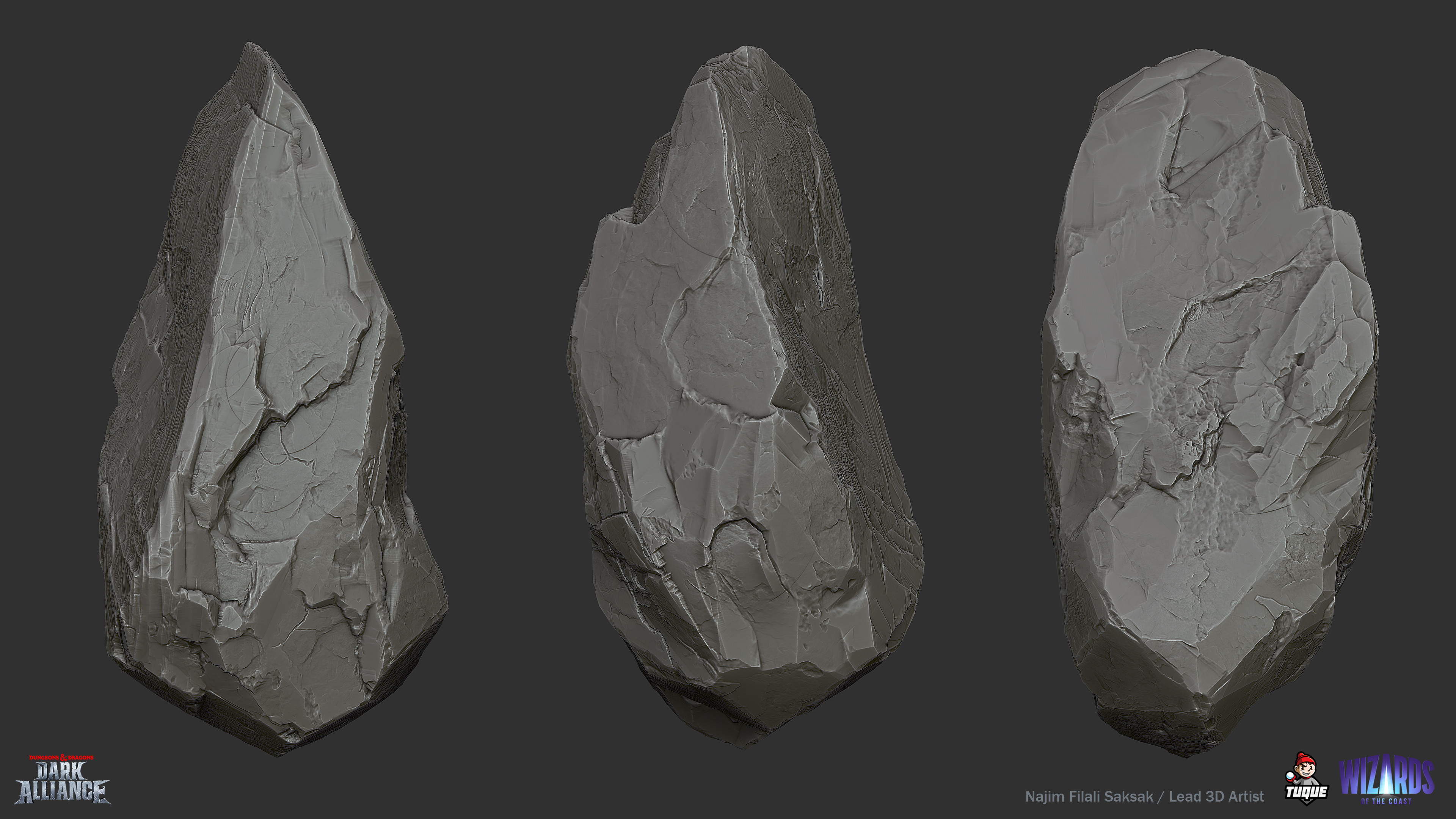 Troll Cave Rock 02 Sculpting