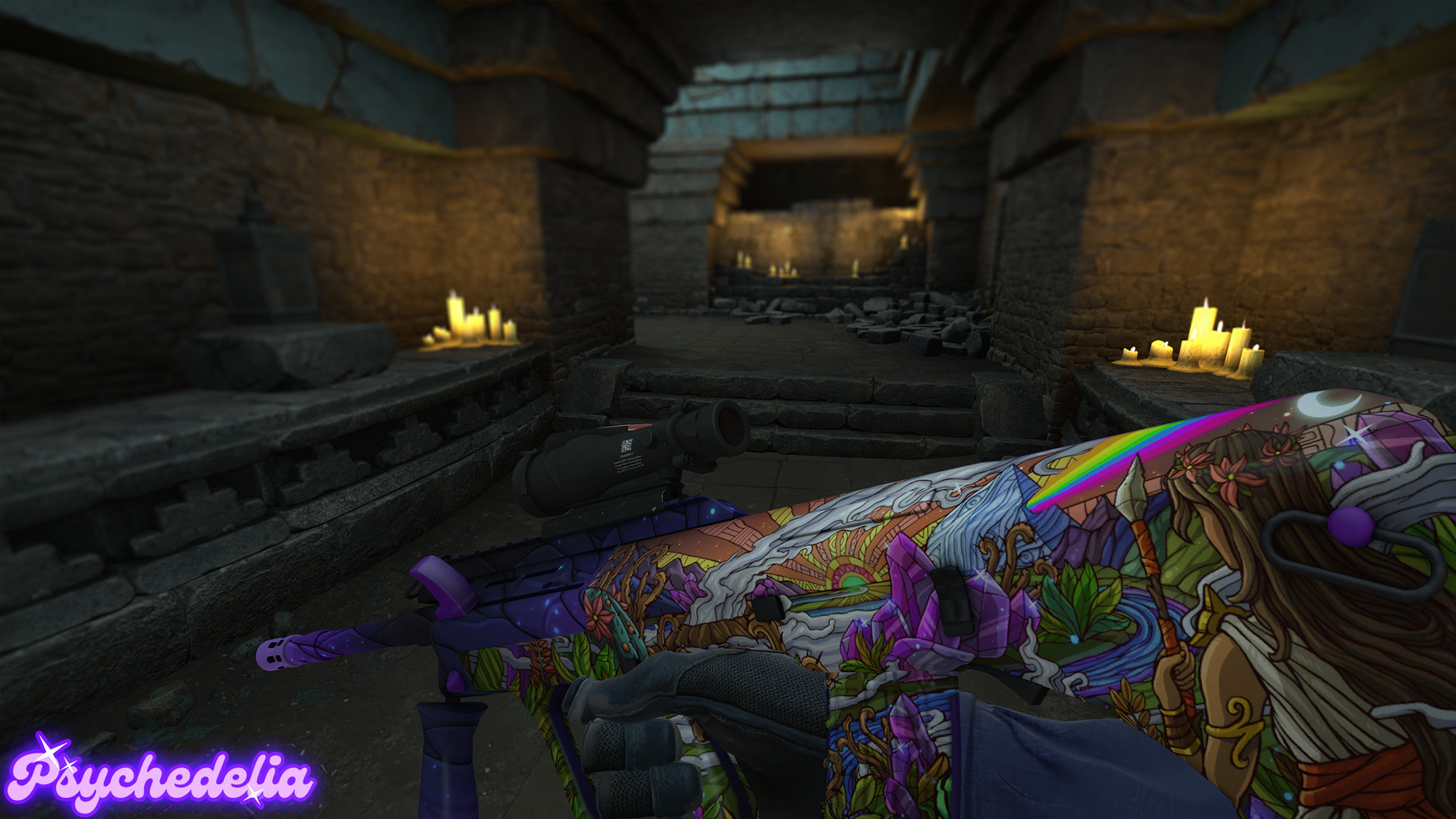 In-game in various lighting conditions.