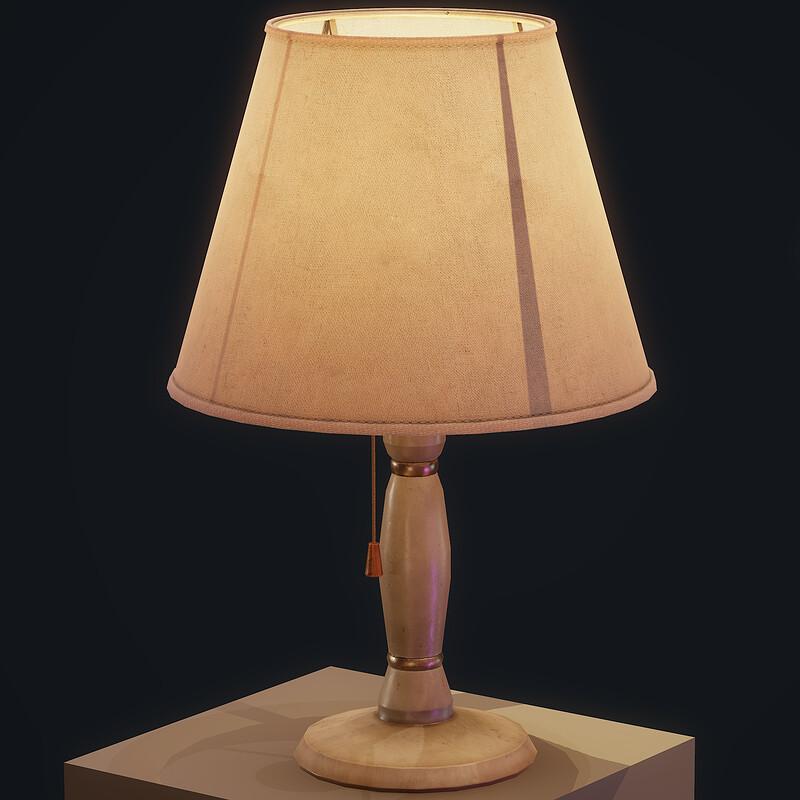 Old Lamps - (Horror Bedroom)