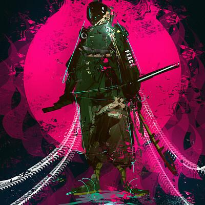 Benedick bana cyberpunk ninja final lores