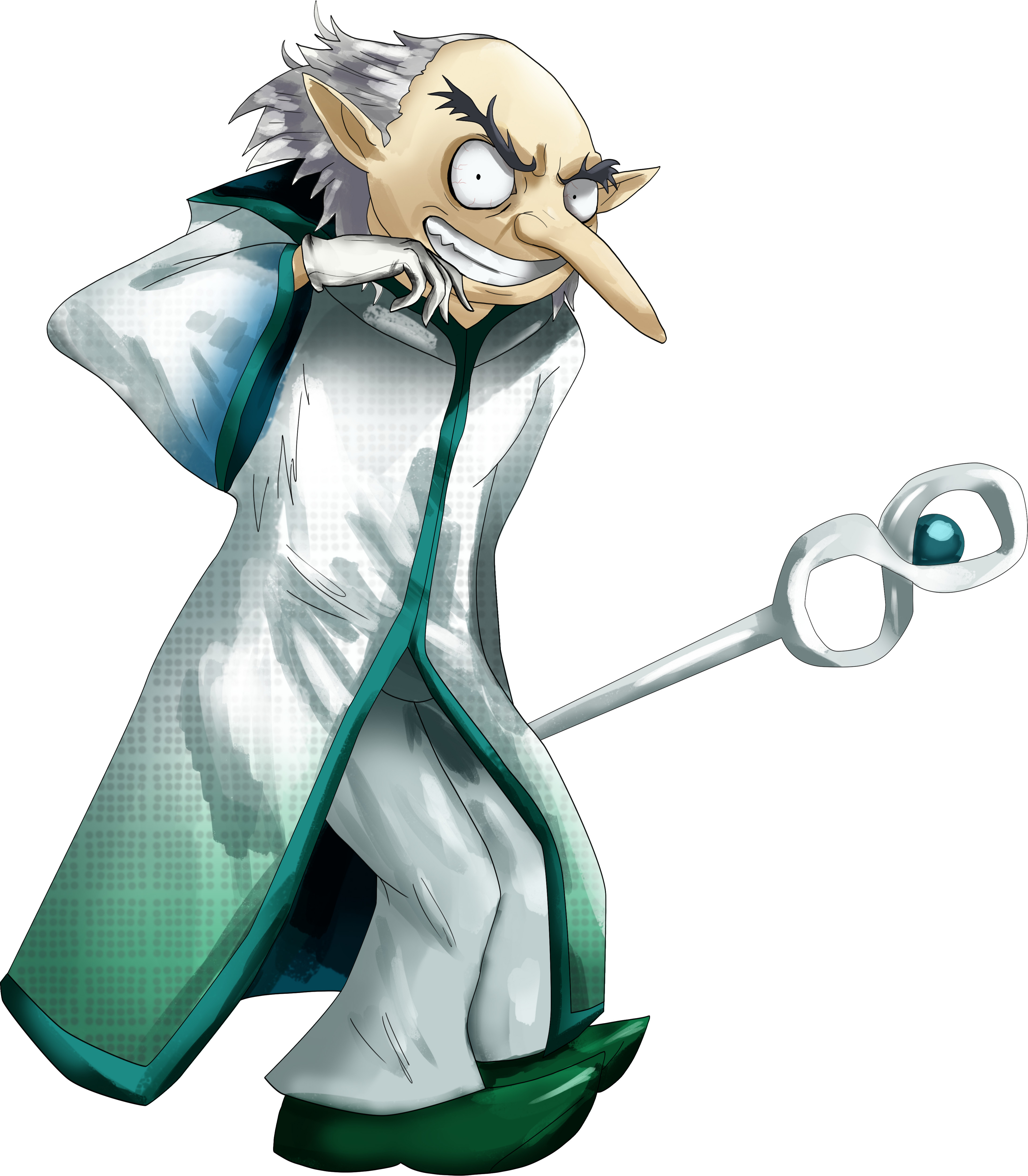 Igor from the Persona Series as the Great Sage. We can finally see him out of the Velvet Room.