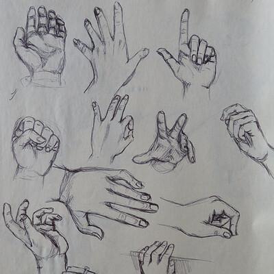 Jadethest0ne hand studies