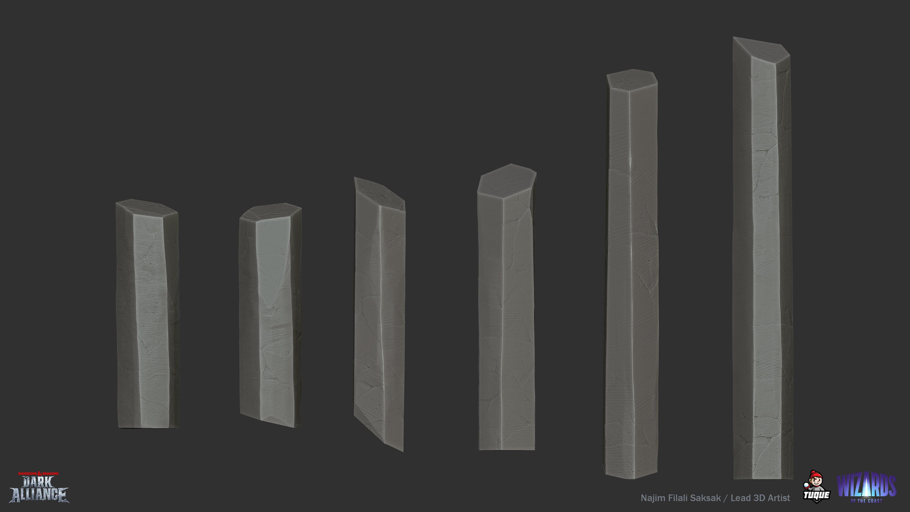 Basalt Crystal Kit Sculpting