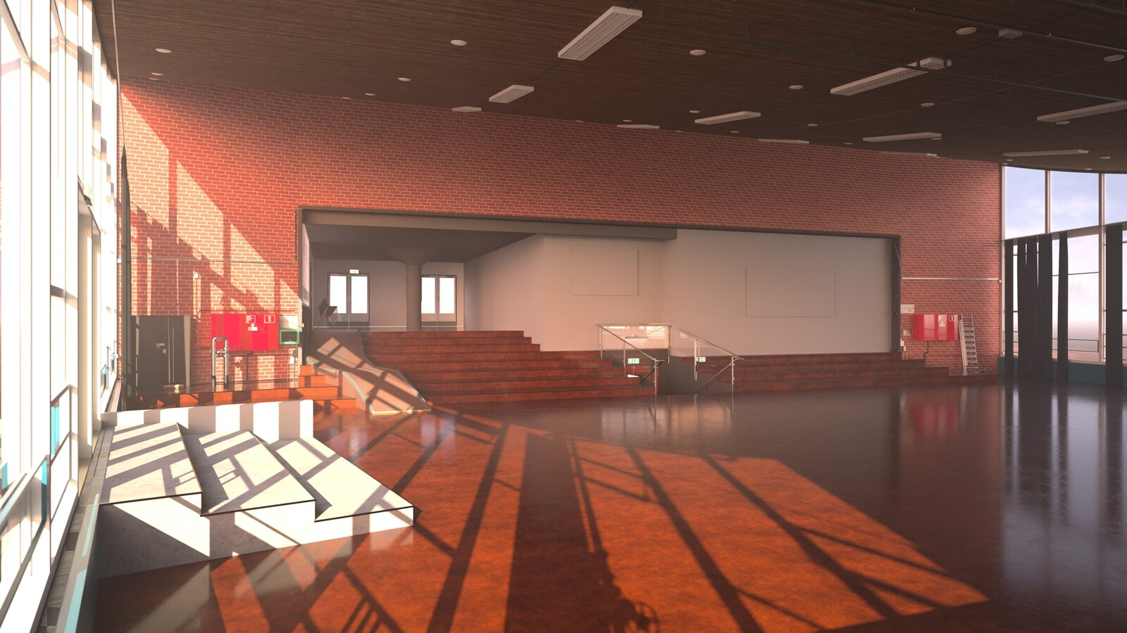 SketchUp 2021 + Thea Render V3 Broedplaats LELY (The Lely Incubator) Auditorium Amsterdam Showroom Final-Scene 13 20m33s HD1080 1536sp