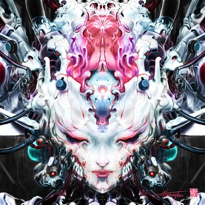 Atom cyber symetrya 6 oeil interieur