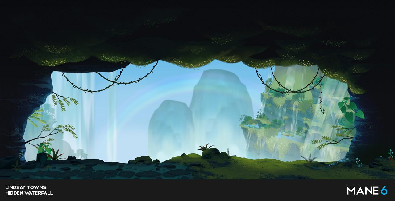 Them's Fightin' Herds - Hidden Waterfall