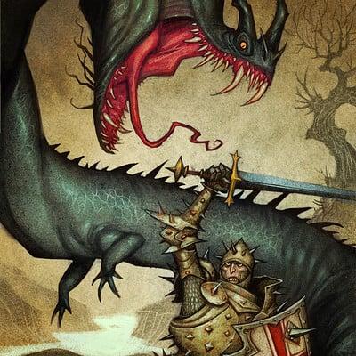 Johan egerkrans the lambton worm
