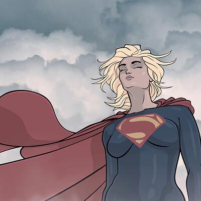 Thorny devil supergirl stefaniaferrarrio poster