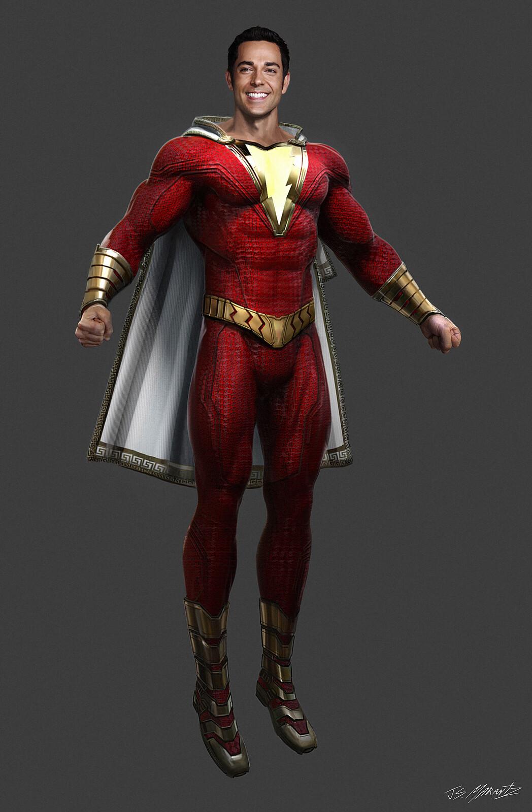 Shazam! Costume Concept Art