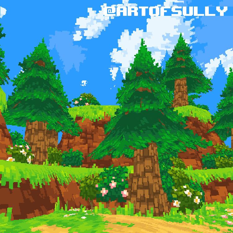 Pokémon Fan Art - Sinnoh Battle (Environment Focus)
