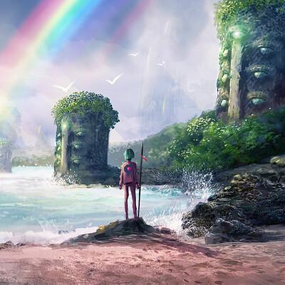 Lopez sylvain rainbow gate