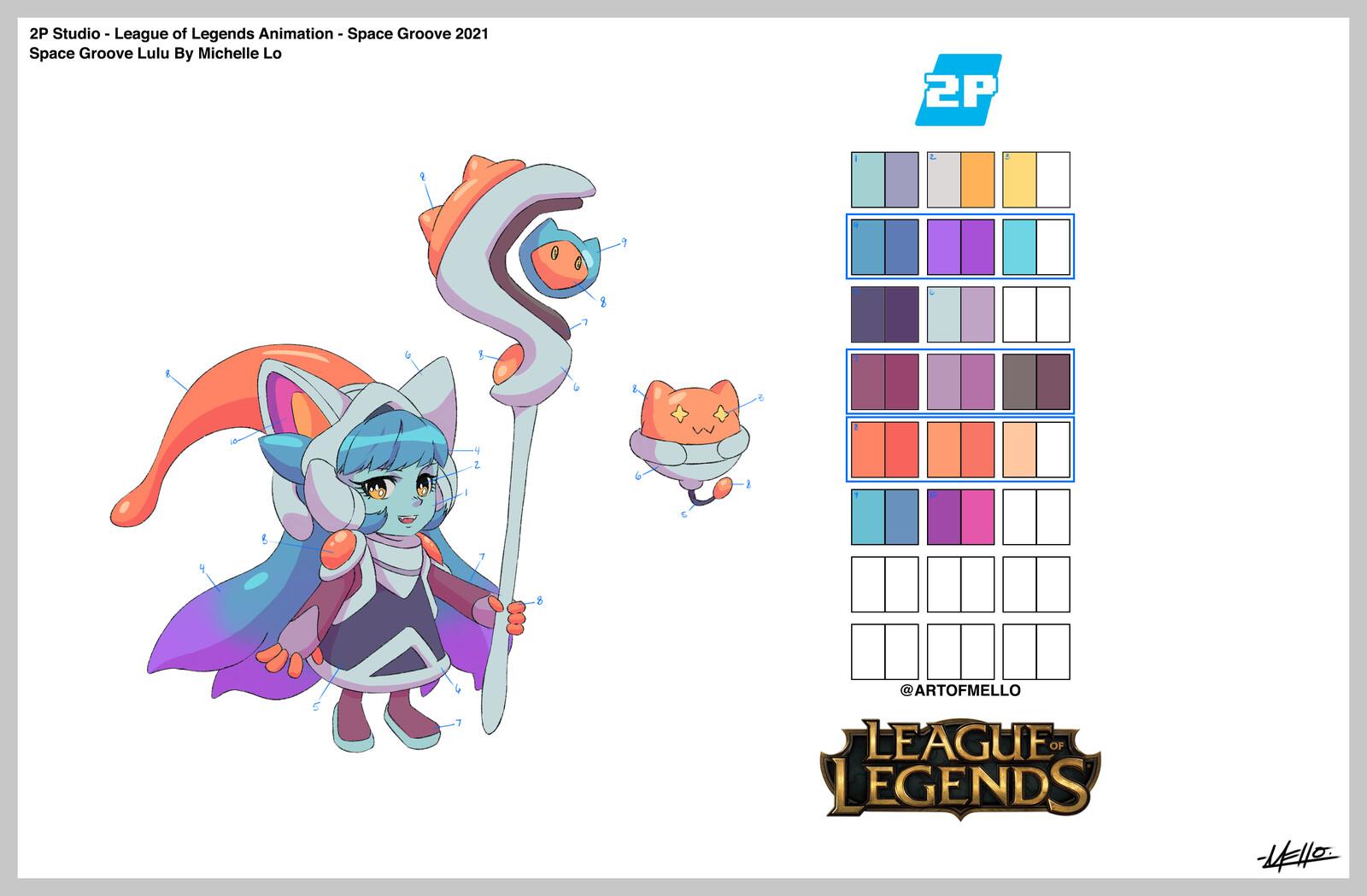 League of Legends - Space Groove Lulu