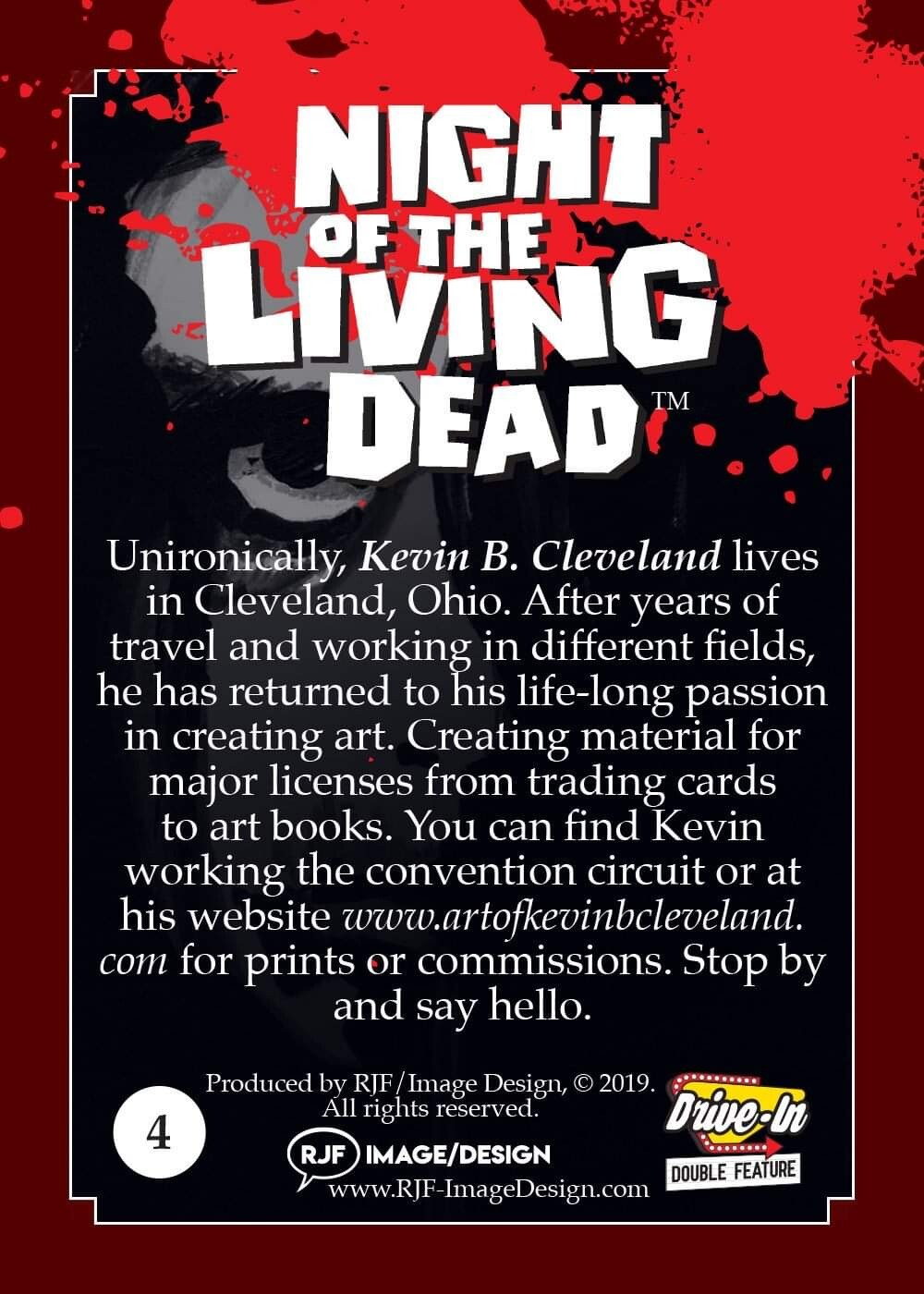 Night of the Living Dead Official Base Card