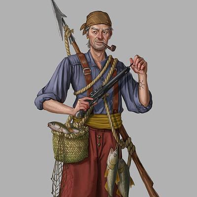 Daniel dimitrov pirate fisherman