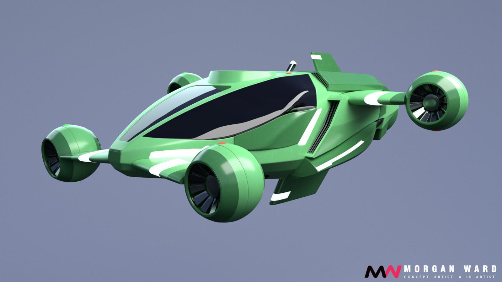 Original colors - green version
