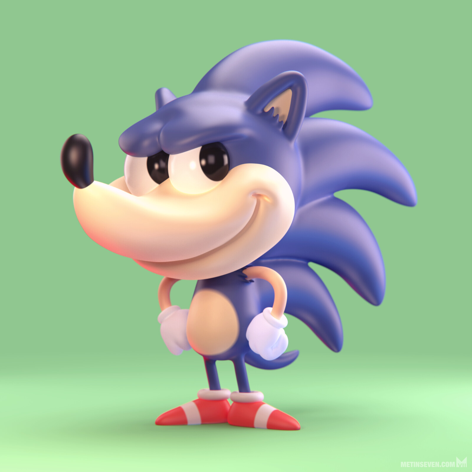 Sonic the Hedgehog 🦔 | Based on a drawing by Craig Seagreen