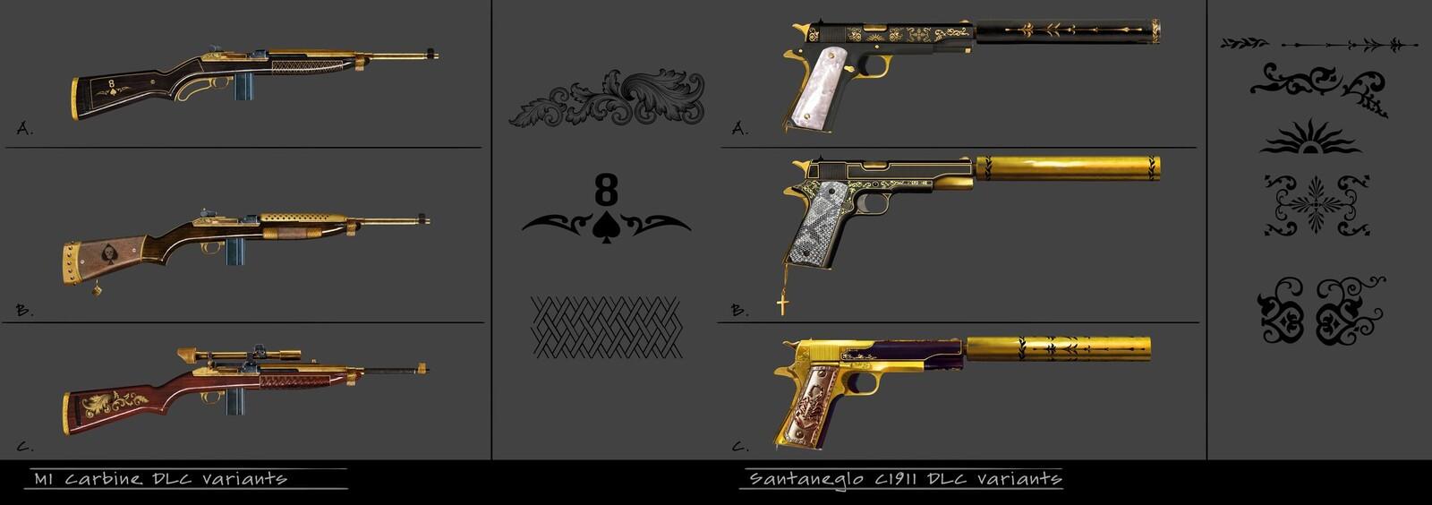 Mafia 3 DLC guns