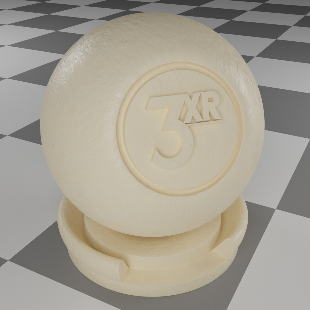 Wax procedural material made & rendered in Blender.