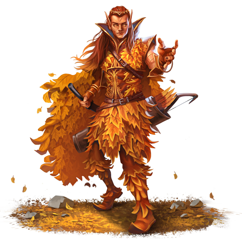 Elder Autumn Eladrin