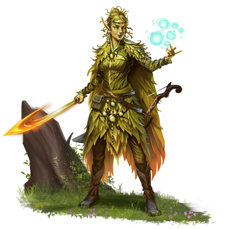 Elder Spring Eladrin