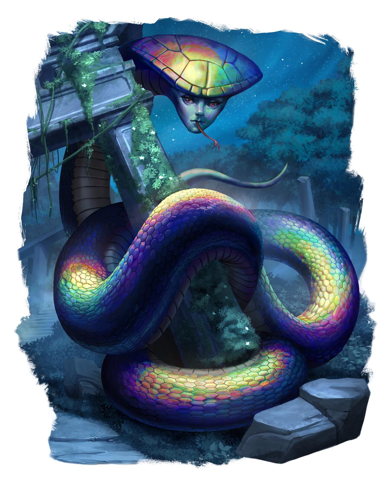 Iridescent Naga