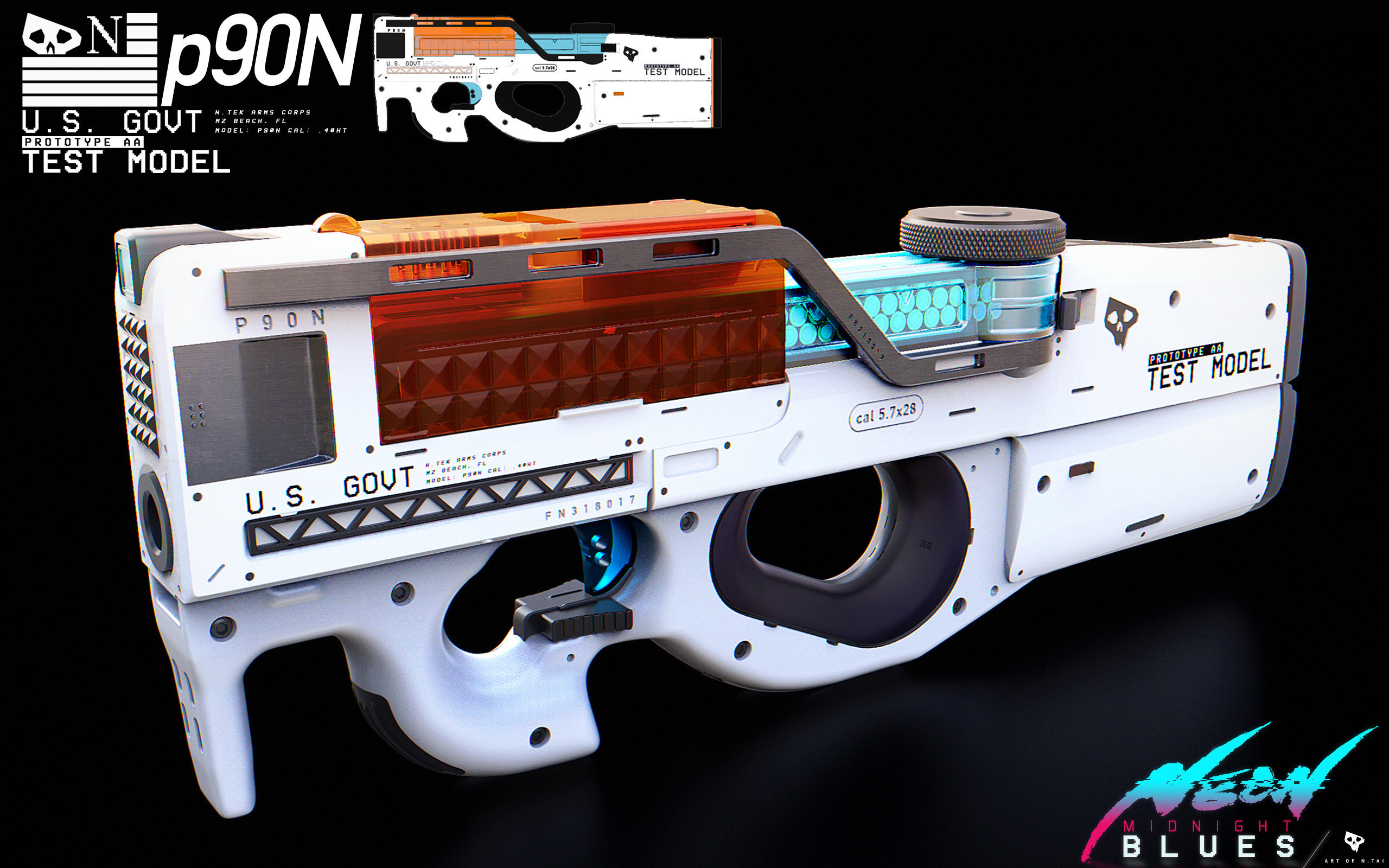 BLUE'S SPECIAL P90N