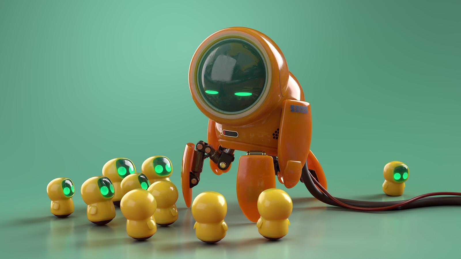3D Stager render