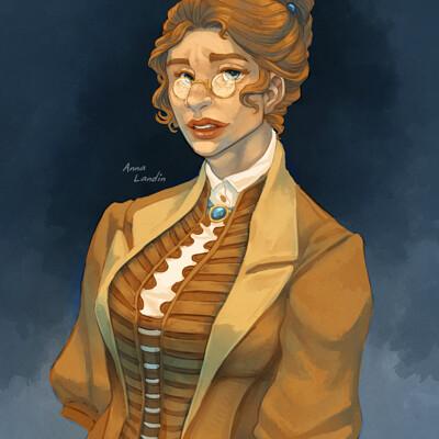 Anna landin thea portrait final