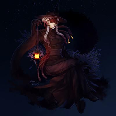 Anna landin mysticlily night final lowres