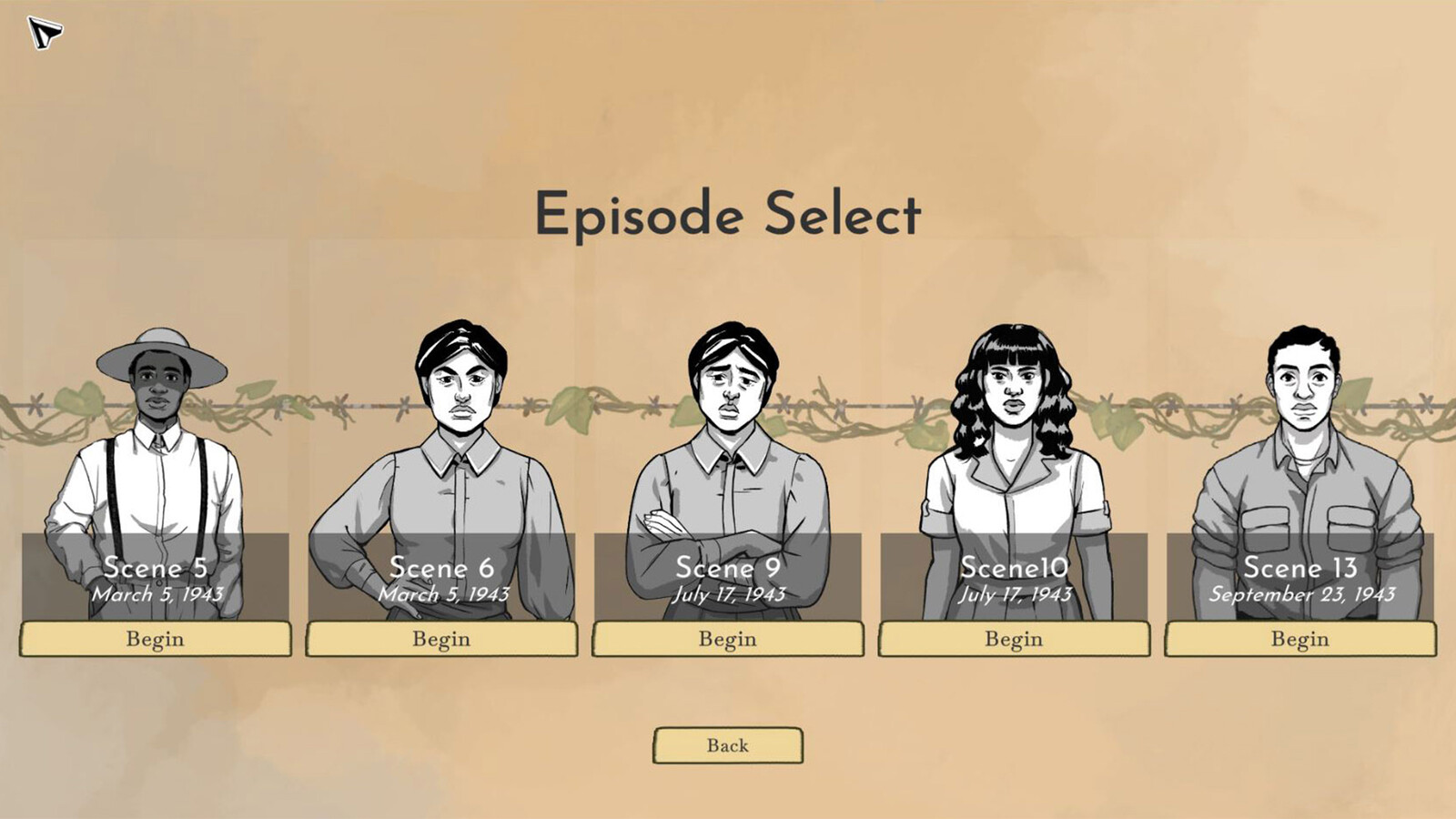Episode Select - Our initial release is a subset of the full set of episodes we would like to release in the future.