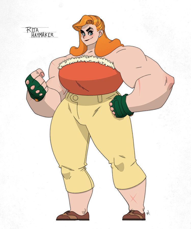 Rita Haymaker The Animated Series (not really, heh)