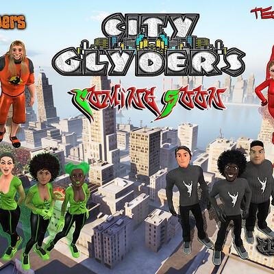 Animarkanestudios city glyders
