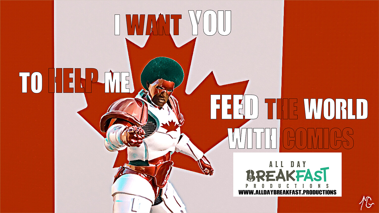 The Canadian Shield want YOU to help FEED THE WORLD