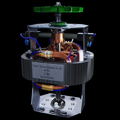 Electric motor design