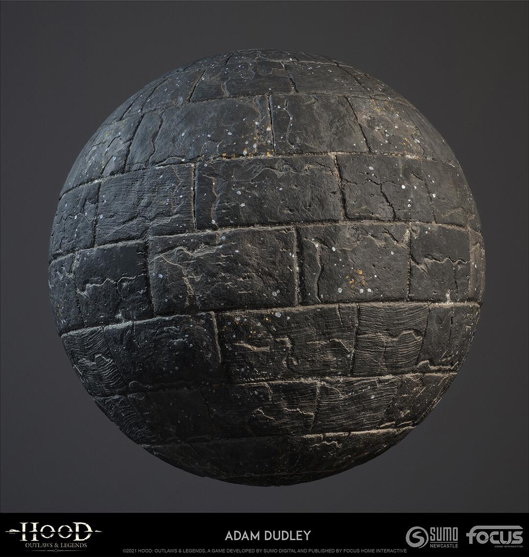 Castle Stone larger blocks - darker