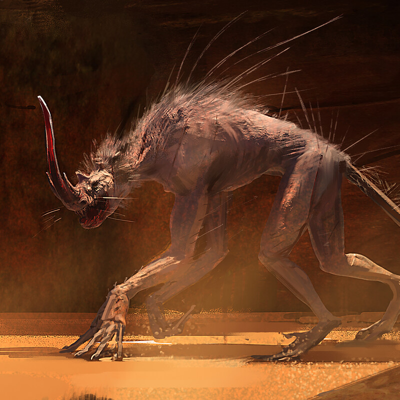 Alien Desert Creature