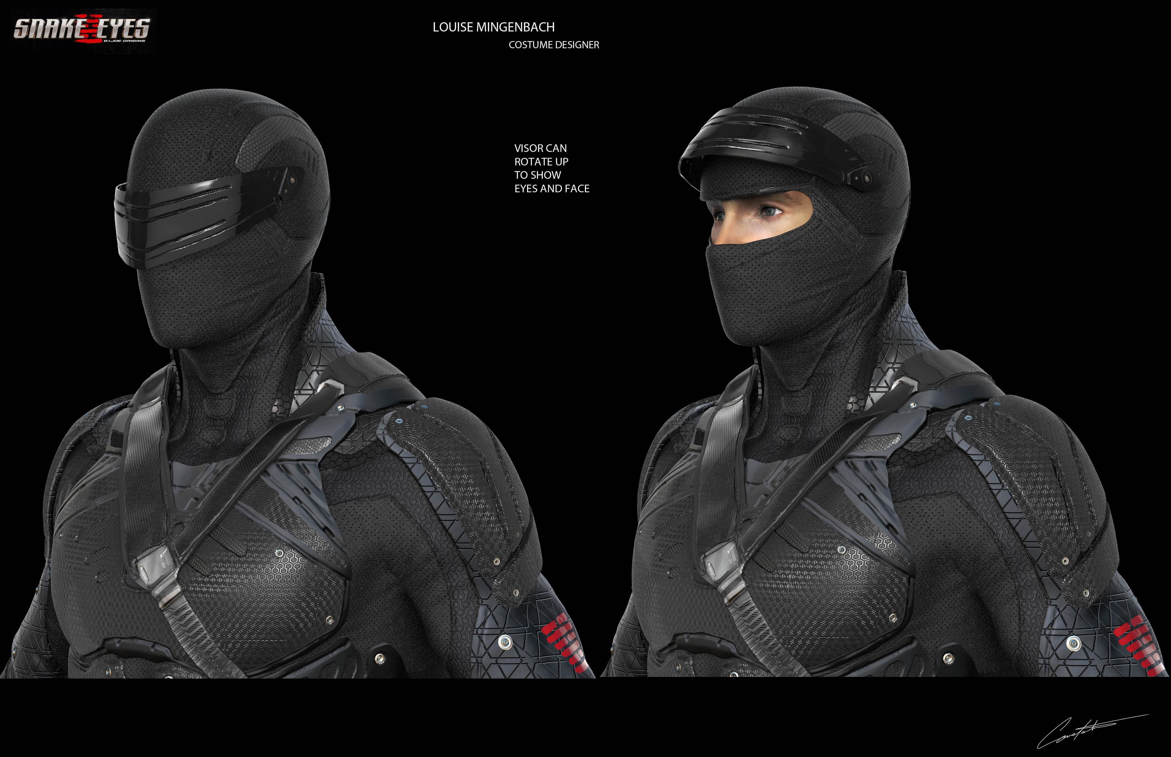 Snake Eyes Helmet Concept
