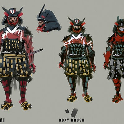 Benedick bana samurai armor final lores