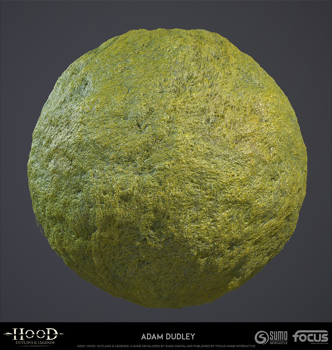 Algae - Photoshop/Substance B2M/Quixel Mixer