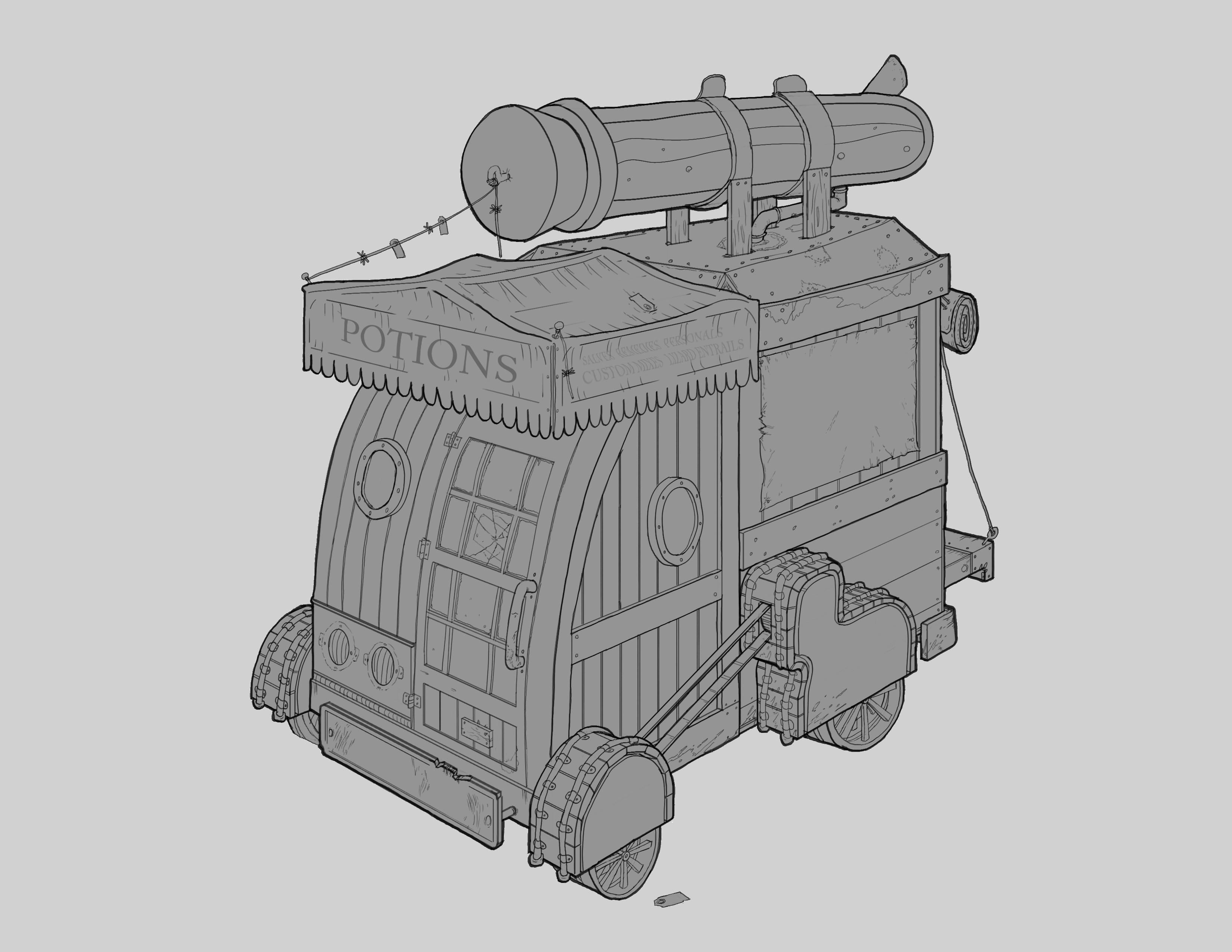 Original vehicle design.