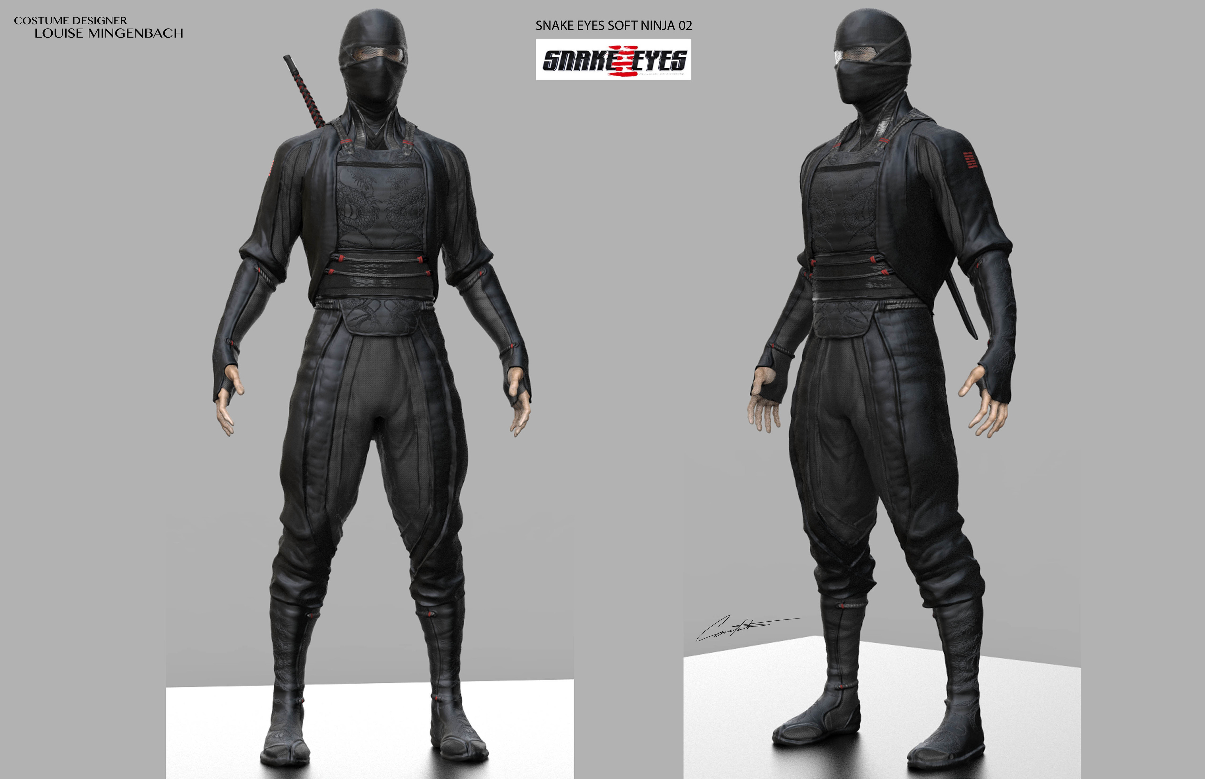 Snake Eyes early exploration concept