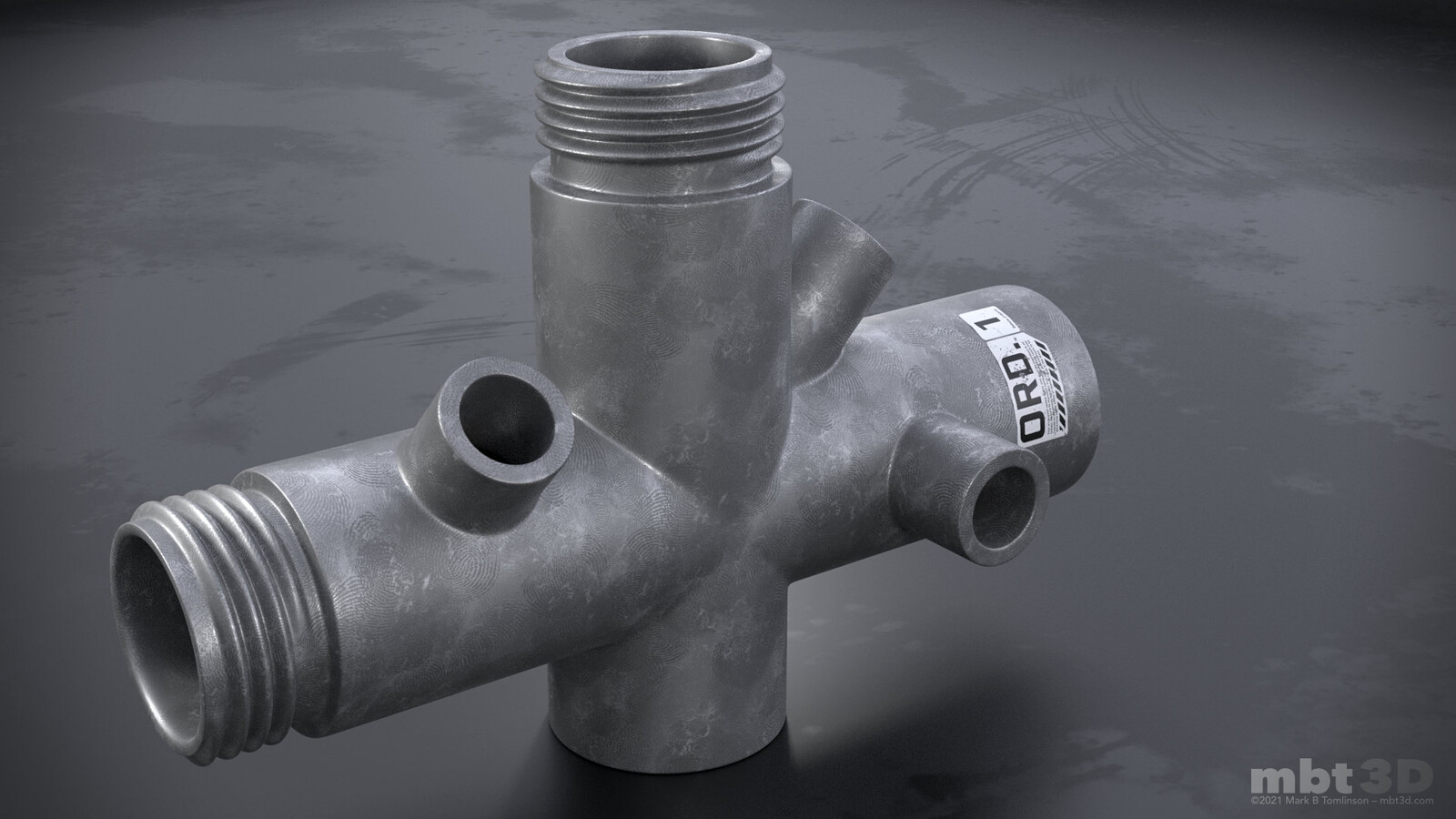 Sub-D Pipe Test: