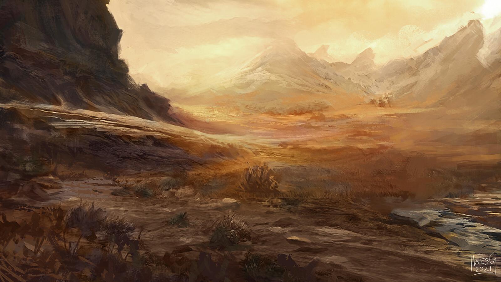 Plains (MTG Portfolio Series)