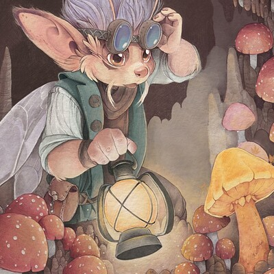 Quest for the Golden Mushroom
