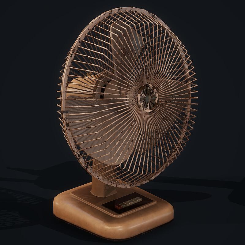 Old Fan - (Horror Bedroom)