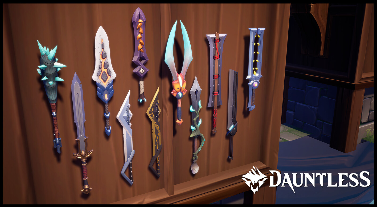 Swords never go out of fashion, but which one to choose.  A Daunting choice.