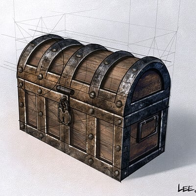 Lee bryan treasure chest lee bryan art 2021