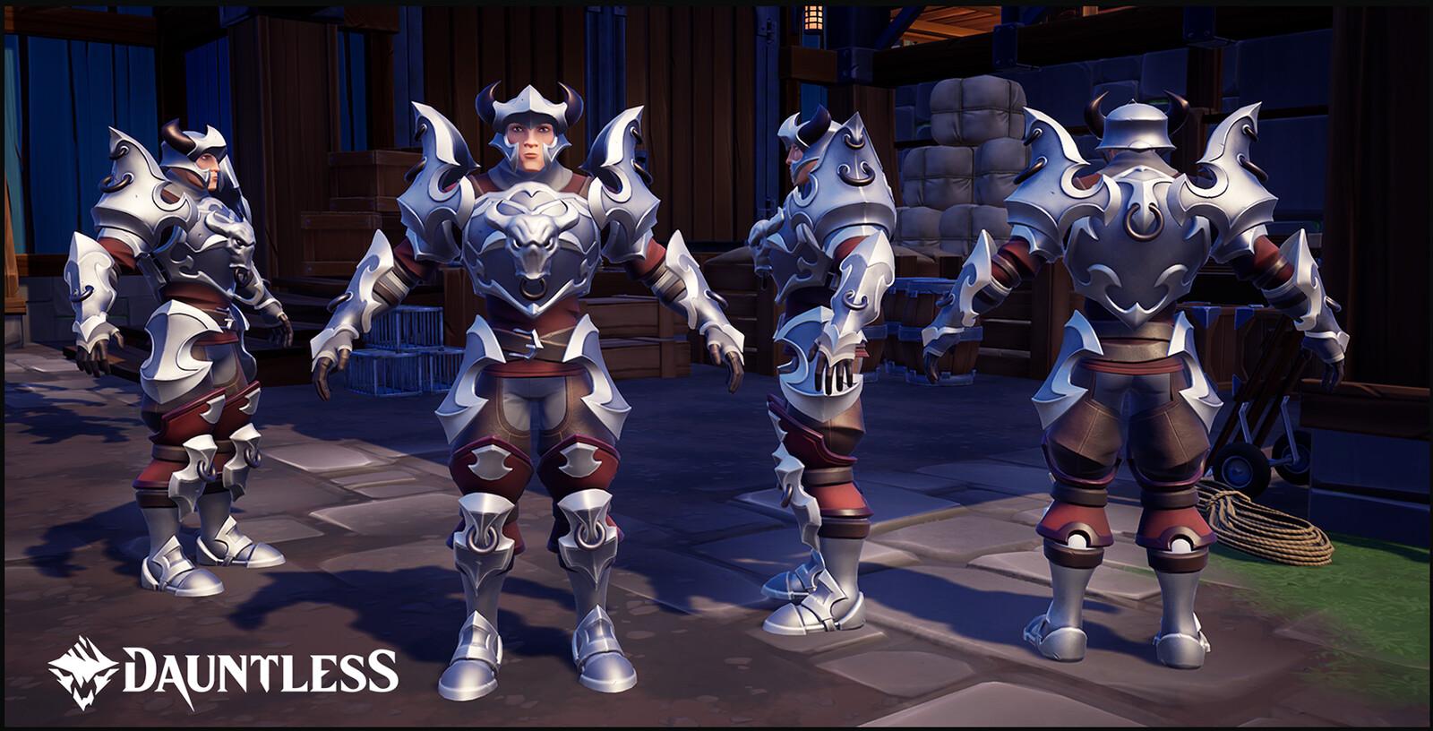 Heroic Armor. LVL 1 Hunt Pass reward for the season of Myth and Legend.